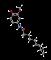 HSP of capsaicin